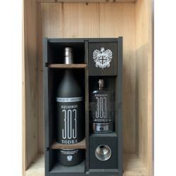 Vodka 303 Réservoir Squadron 40% Coffret Flasque