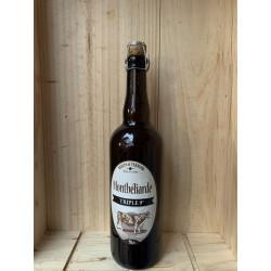 Bière Blonde Triple La Rouget De L'isle Montbéliarde 75cl