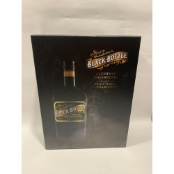 Black Bottle 40% Coffret 2 verres