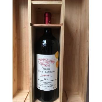 Magnum Bordeaux Château Bel-Air L'espérance 2015