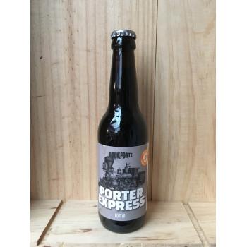Bière Noire Porter Express  Passporte 33cl
