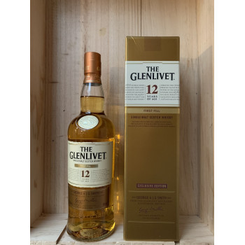 The Glenlivet First Fill 12 ans 40%